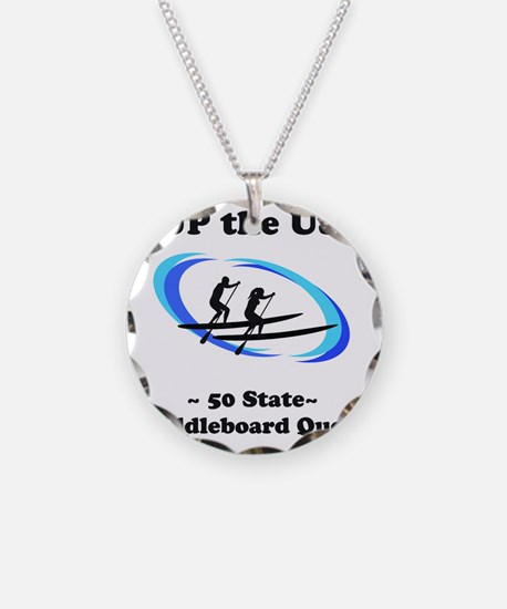 SUP the USA  Necklace