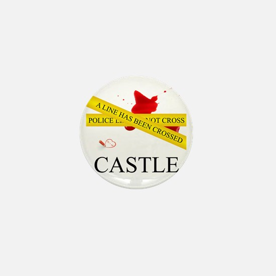 Castle: A Line Has Been Crossed Police Mini Button