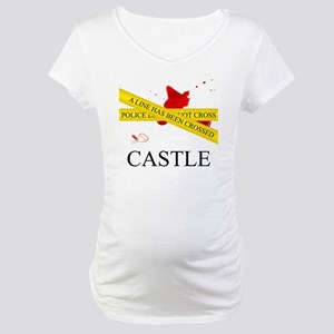 Castle: A Line Has Been Crossed  Maternity T-Shirt