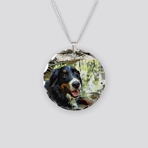 Berner by a Stream Necklace Circle Charm
