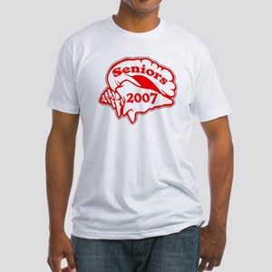 Class of 2007 Seniors Conch Shell Fitted T-Shirt