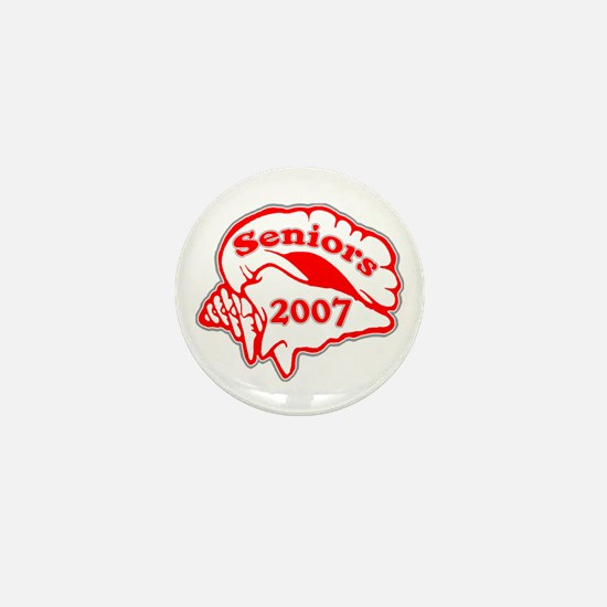 Class of 2007 Seniors Conch Shell Mini Button