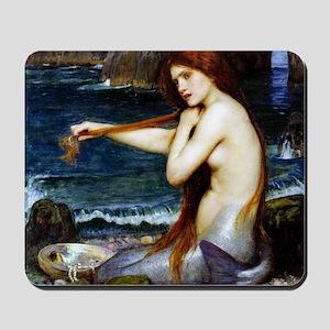 John William Waterhouse Mermaid. Mousepad