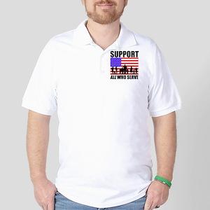 Support ALL Lt Golf Shirt