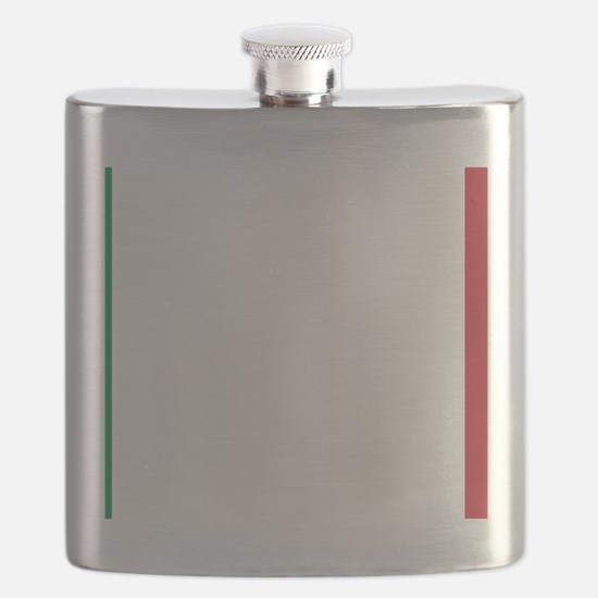 Italy/Italia Flag Flask