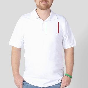 Italy/Italia Flag Golf Shirt