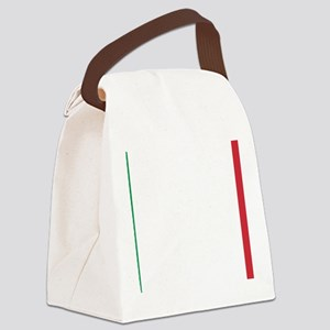 Italy/Italia Flag Canvas Lunch Bag