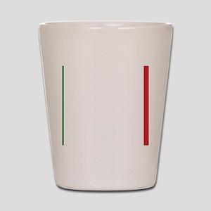 Italy/Italia Flag Shot Glass