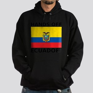 Hands off Ecuador! Hoodie (dark)