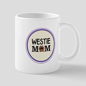 Westie Dog Mom Mugs
