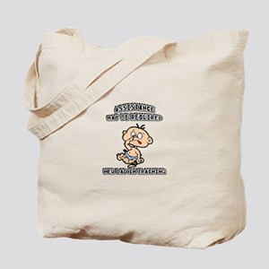 Funny New Father Tote Bag