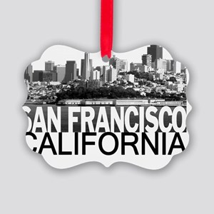 San Francisco Skyline Picture Ornament