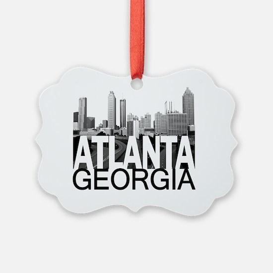 Atlanta Skyline Ornament