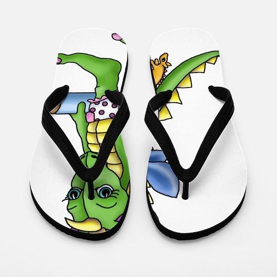 Baby Dragon Flip Flops