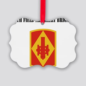 SSI - 75th Field Artillery Brigad Picture Ornament