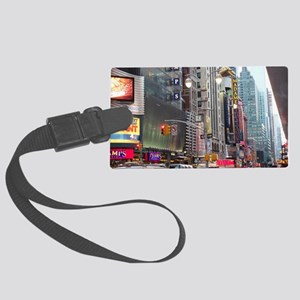 Busy New York Large Luggage Tag
