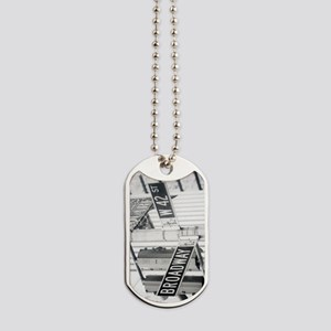 New York - Broadway Times Square Dog Tags