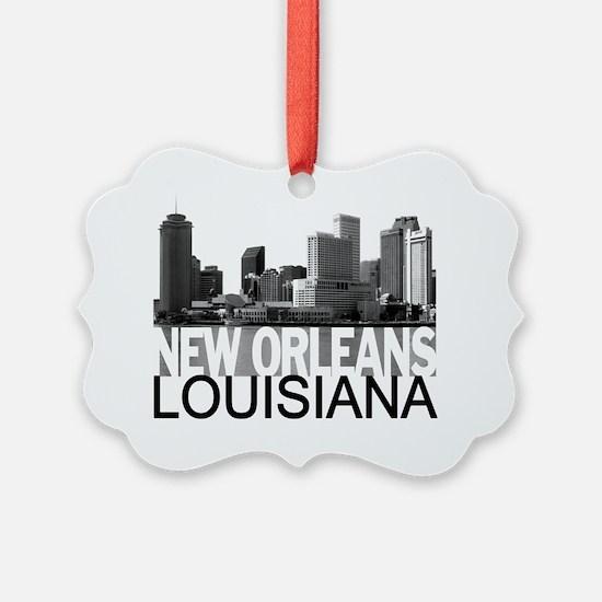 New Orleans Skyline Ornament