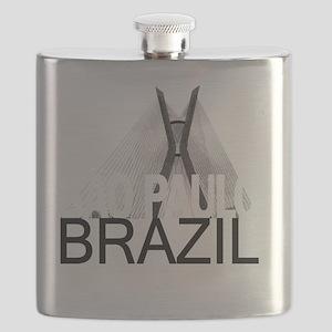 Sao Paulo Skyline Flask
