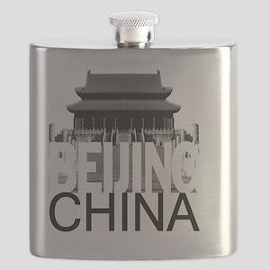 Beijing Skyline Flask