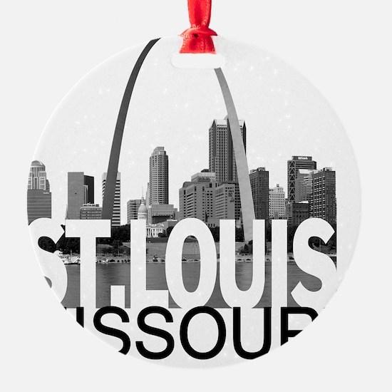 St. Louis Skyline Ornament