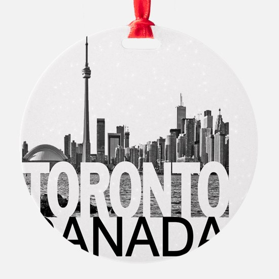 Toronto Skyline Ornament