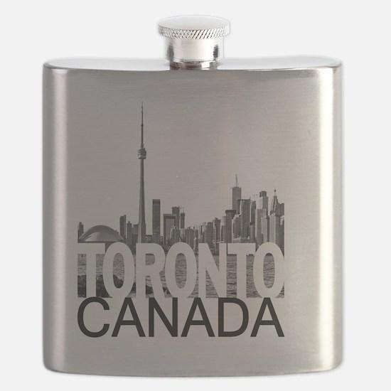 Toronto Skyline Flask