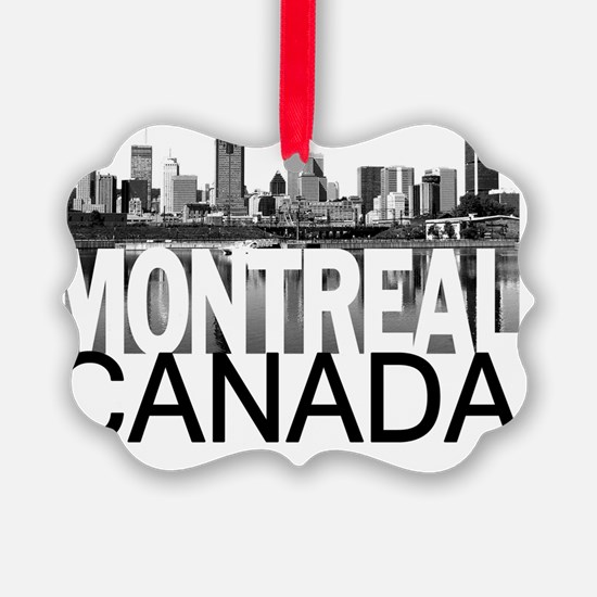 Montreal Skyline Ornament