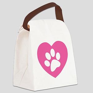 pawLovee2B_0009 Canvas Lunch Bag
