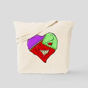 Smirky Heart Tote Bag