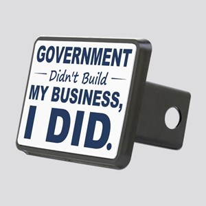 Government Didnt Build It Rectangular Hitch Cover