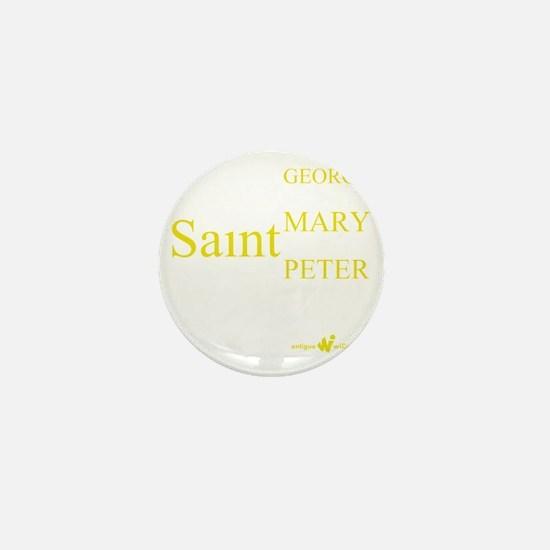 Antigua Parishes Mini Button