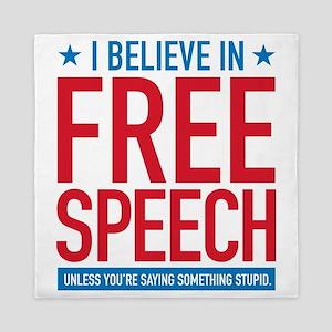 Free Speech Queen Duvet
