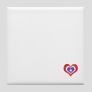 Mutts for MItt Romney Tile Coaster