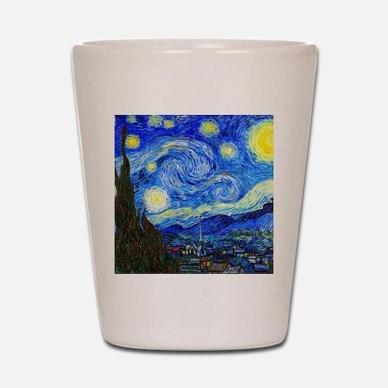Van Gogh Shot Glass
