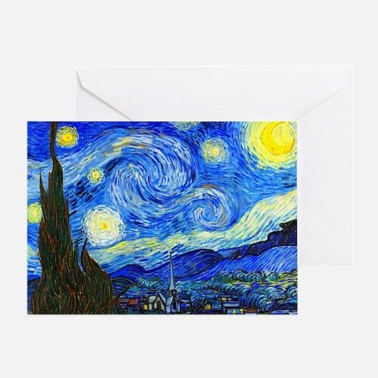 Van Gogh Greeting Card