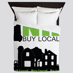NHBL Farm Logo Queen Duvet
