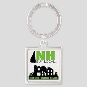 NHBL Farm Logo Square Keychain