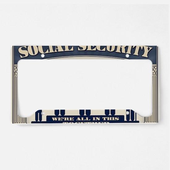 SSI-2-CRD License Plate Holder