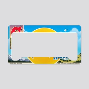 California Homegrowers Associ License Plate Holder