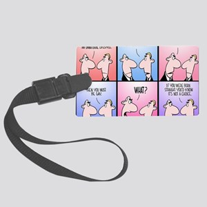 Same-Sex Marriage Large Luggage Tag