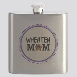 Wheaten Dog Mom Flask