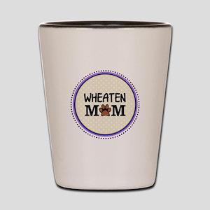 Wheaten Dog Mom Shot Glass