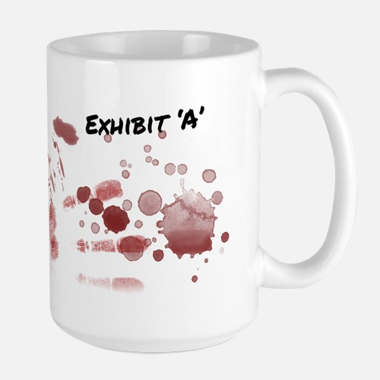 Blood Evidence Mug Large Mug