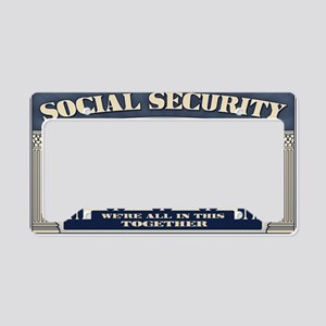 ssi-2-STKR License Plate Holder