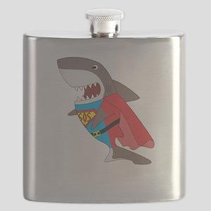 Shark hero Flask