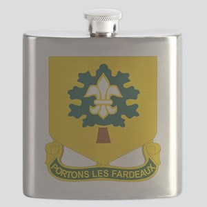 DUI - 101st Support Battalion Flask