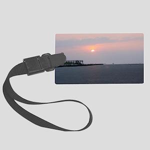 Sun rise Isle Of  Palms South Ca Large Luggage Tag
