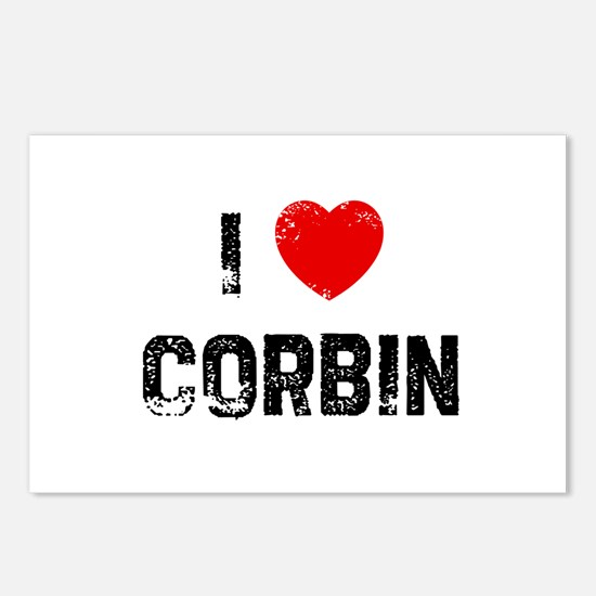 I * Corbin Postcards (Package of 8)