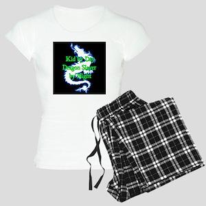 Kid by Day Dragon SlayerBlu Women's Light Pajamas